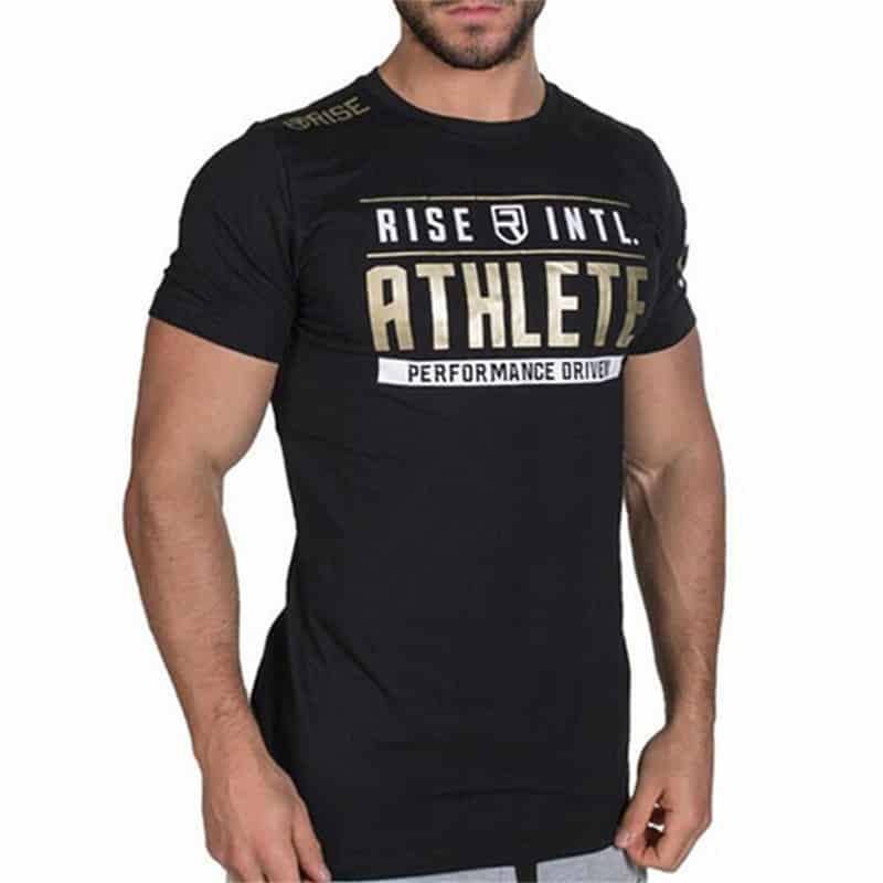 38417774500a Stylové pánské fitness tričko – Rivalenti.cz