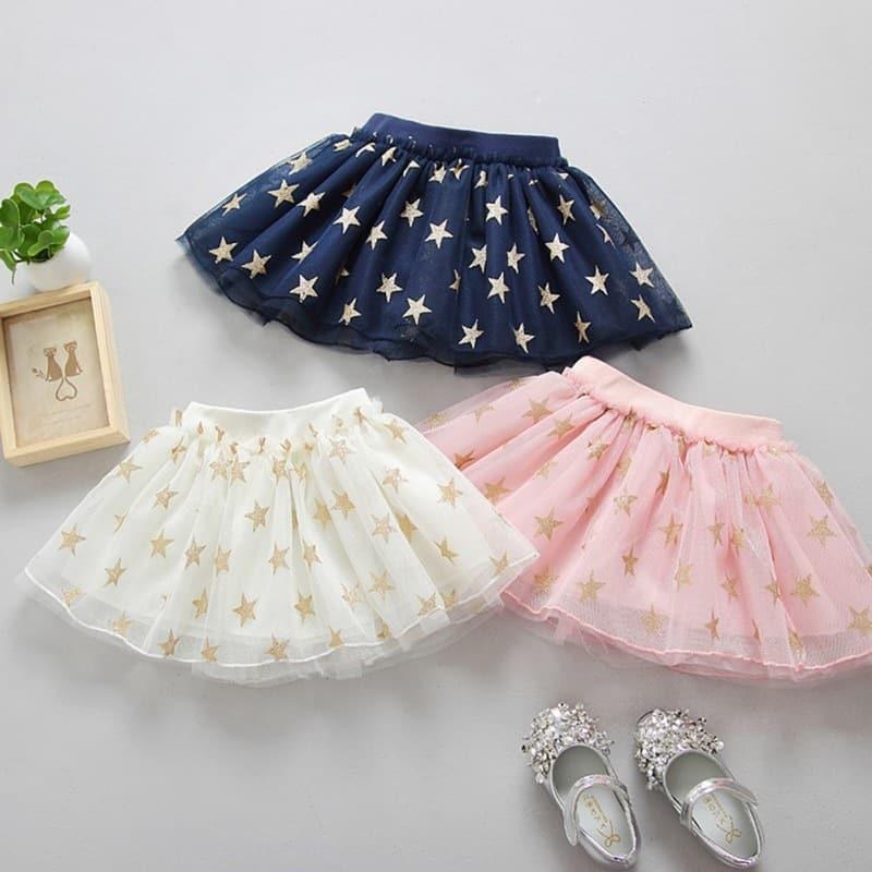 6c72c55a83b4 Dívčí roztomilá letní Tutu sukně