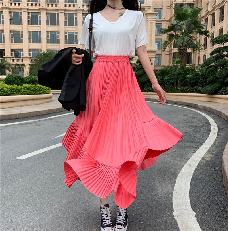 f921a29b244d Dámská dlouhá sukně