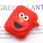 red sesame street Q