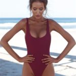 bodysuits wine red