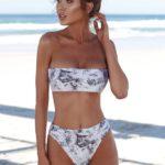 print bikini set