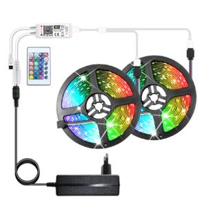 Dekorativní Smart LED pásek 5m 10m 15m - Bluetooth, ovládání přes aplikaci